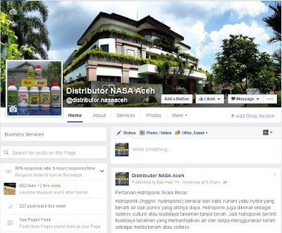 Penjual Pupuk Organik POC Nasa wilayah Aceh?