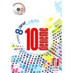 İyi Fikir Yayınları -İlköğretim 8. Sınıf 10 Deneme (Çek Kopar Kullan) Çözüm Kitapçığı