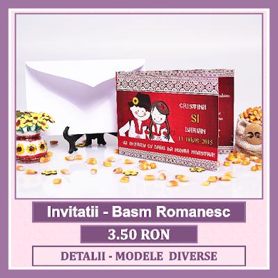 http://www.bebestudio11.com/2018/03/invitatii-nunta-basm-romanesc.html