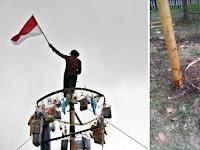 Lomba Panjat Pinang Seorang Warga di Bandung Tewas Terjatuh Ketinggian 7 Meter