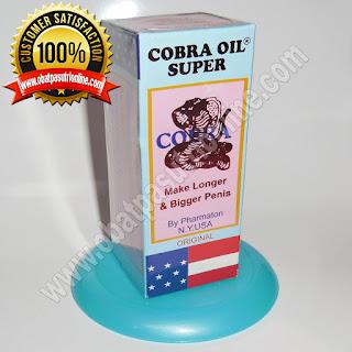 jual minyak pembesar penis pria paten cobra oil super di bogor