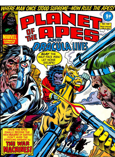 Marvel UK, Planet of the Apes #120