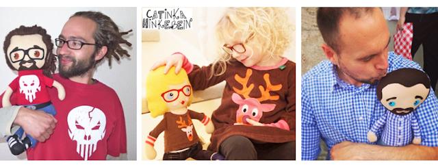 Catinka Hinkebein Portraitpuppen MiniMe's