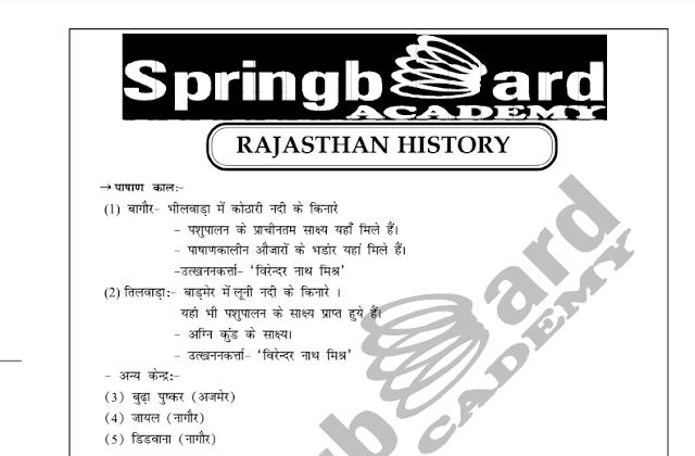 राजस्थान का इतिहास पीडीऍफ़ बुक हिंदी में | Rajasthan Ka itihas in Hindi PDF Book Free Download