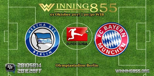 Prediksi Skor Hertha vs Bayern Munchen