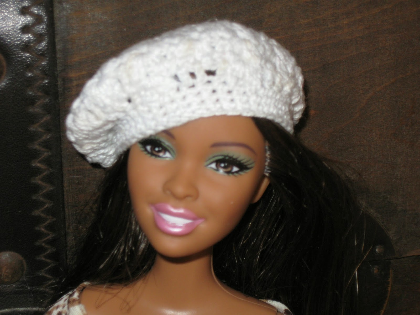 Haven Cottage Crafts: Crochet Beret for Barbie