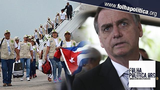 """Resultado de imagem para Bolsonaro: """"Maior parte dos salários dos cubanos é destinada à ditadura"""
