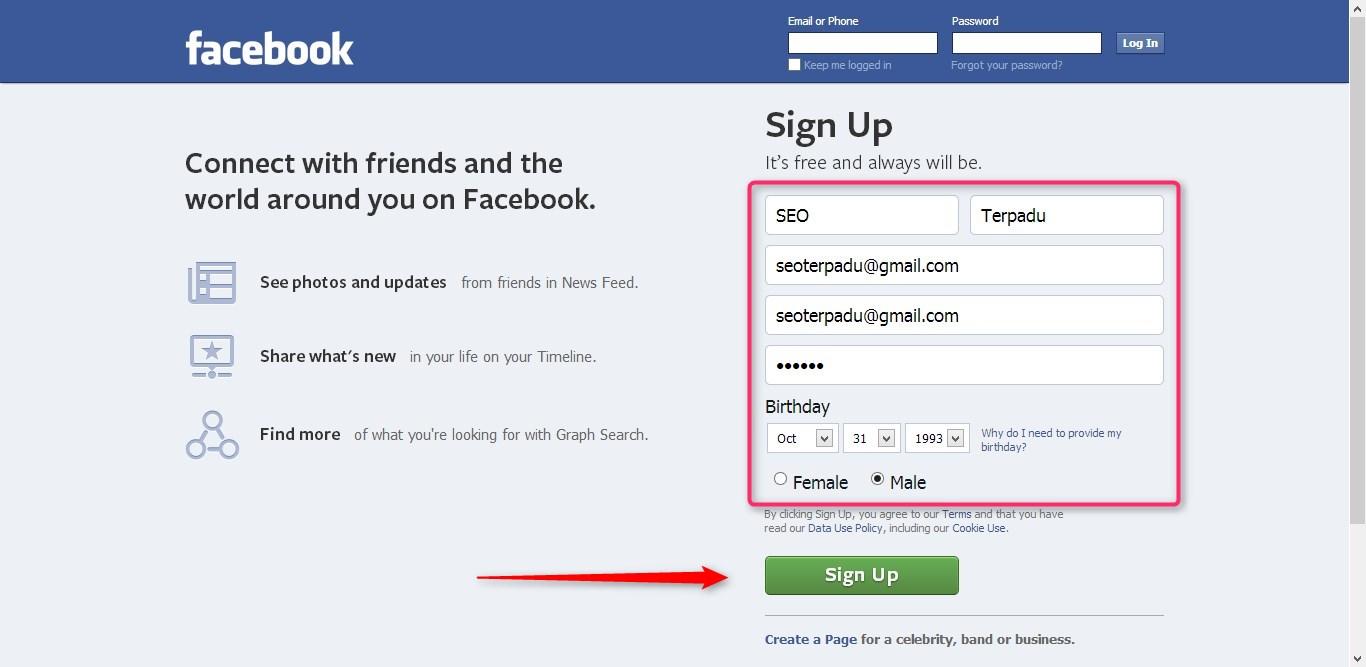 Cuma 5 Menit Cara Buat Email Facebook Baru Dengan Mudah Dan Cepat