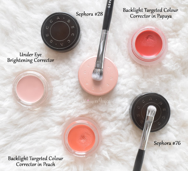 Becca Under Eye Brightening Backlight Targeted Colour Corrector Peach Papaya Review