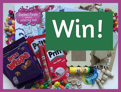 Win a box of crafty goodies and some chocolate