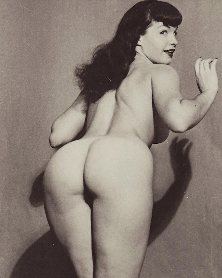 bettie page nude videos