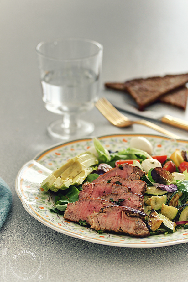 Biftek na salati