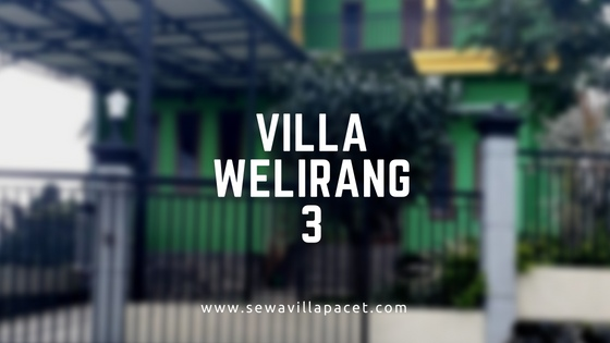 Sewa Villa Pacet Murah - Villa Welirang 3 Pacet
