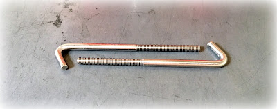 Custom 316 SS Bent Anchor Rods - Per AMS 5648