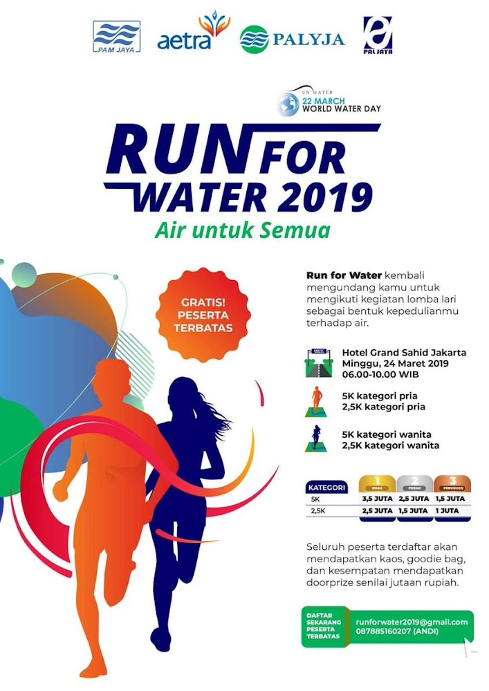 Run for Water • 2019