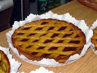 Receta : Pasta frola de dulce de membrillo