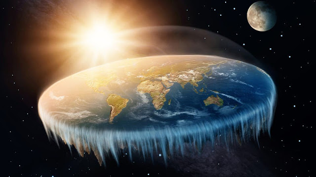 What If the Earth Is Flat?