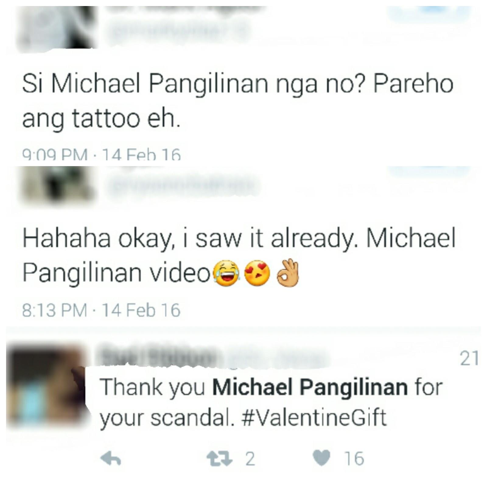 Michael Pangilinan scandal