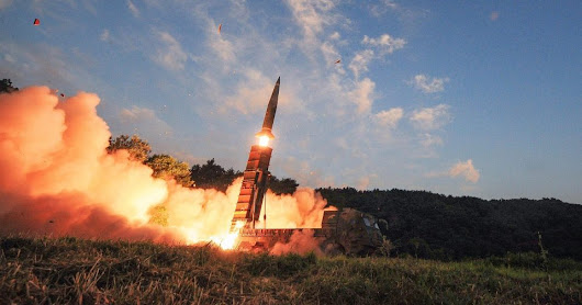 North Korea fired off it latest ballistic missile capable of hitting the United States