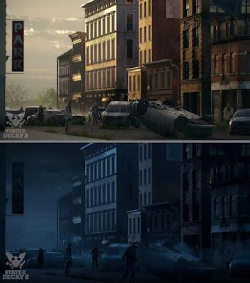 State of Decay 2: giorno vs notte