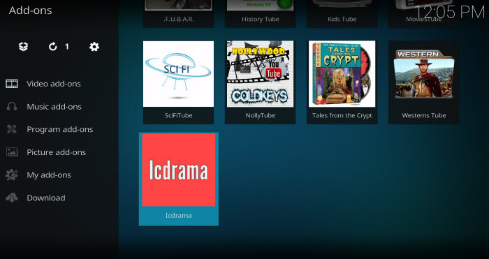 how to add icdrama channels to kodi