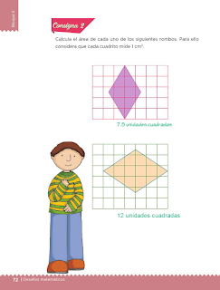 Respuestas Apoyo Primaria Desafíos Matemáticos 5to. Grado Bloque II Lección 32 El rombo