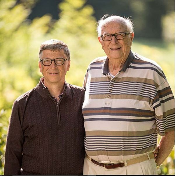 Bill Gates celebrates his dad on Father's Day, says he's the real 'Bill Gates'