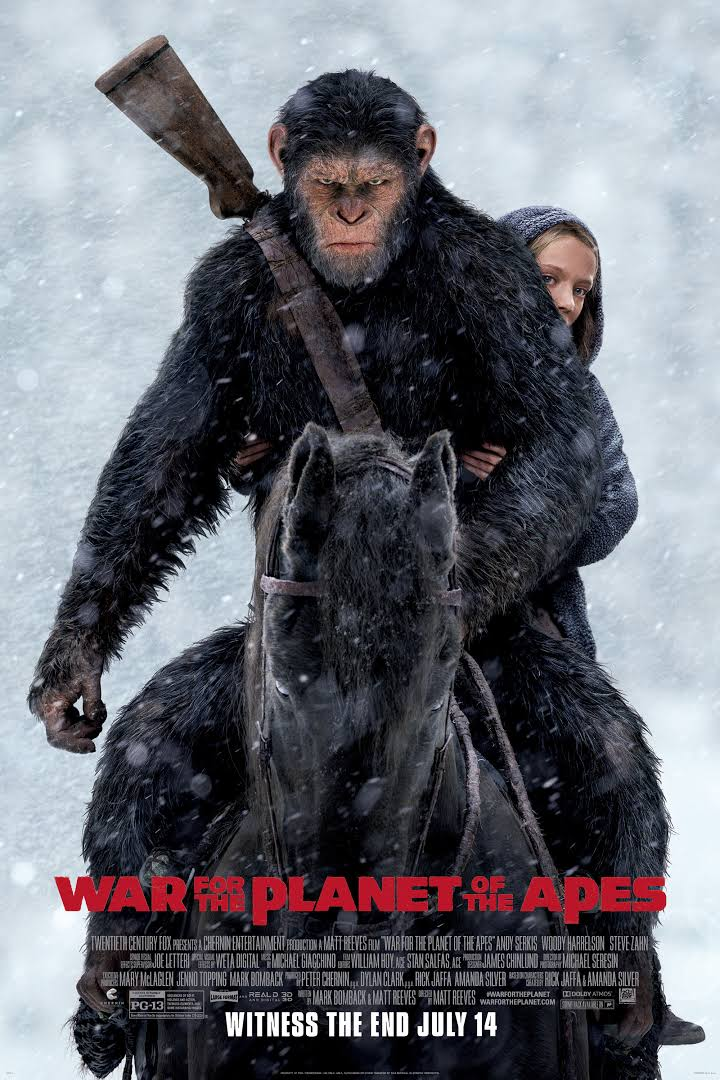 Action , Drama , Adventure , Movie , 2017 , HD , 720p , War For The Planet Of The Apes