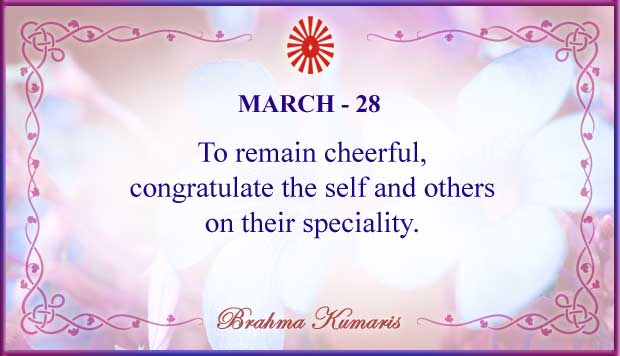 Thought For The Day March 28