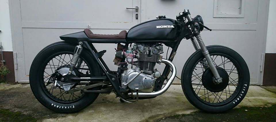 Honda CB 500 T Cafe Racer By Fate Customs