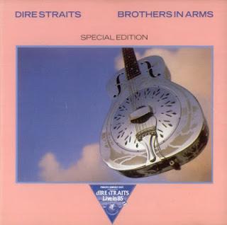 Portada del single Brothers in arms de Dire Straits