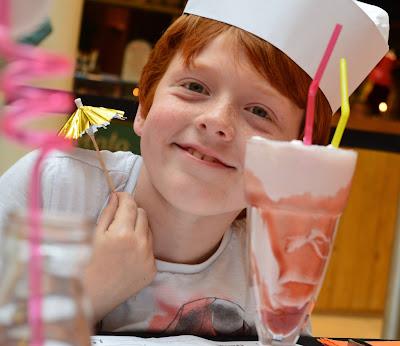 Our Guide to Family Restaurants & Children's Menus at intu Metrocentre - milkshakes handmade burger co