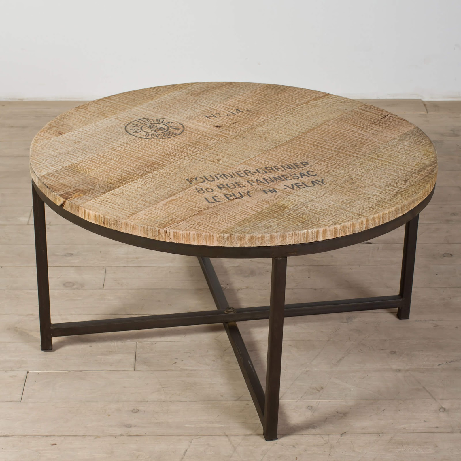 Planks Couchtisch Unfinished Round Wood Table Tops