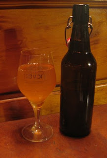 A bottle on Martin's gruit that he sent me home with.