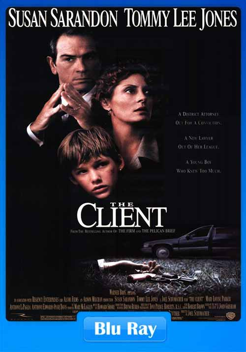 The Client 1994 BRRip 480p x264 350MB Free Movies Download Poster