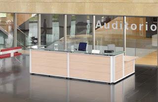 Mostradores y estanterías de oficina