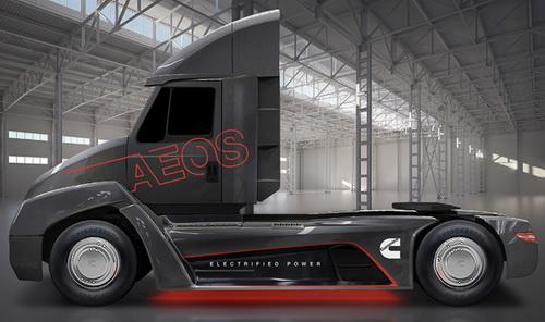 Tinuku.com Cummins announces class 7 heavy-duty electric truck