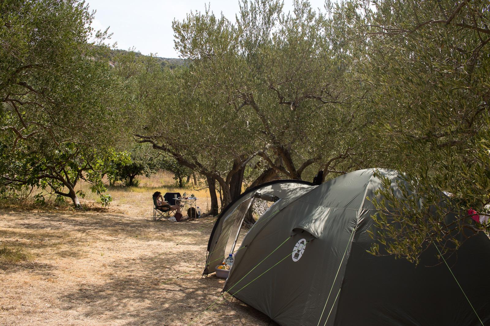 Kamp Bambo in Slano, in der Nähe von Dubrovnik