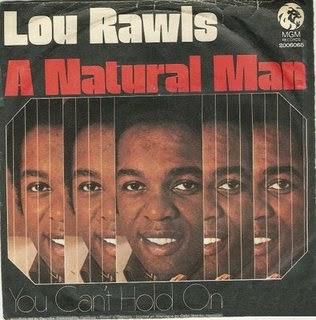 Resultado de imagen de Lou Rawls - A Natural Man