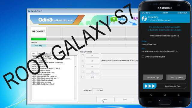 Root Galaxy S7 - Root/Unroot Galaxy S7 With TWRP Recovery