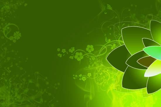 Info Wallpapers: green wallpaper design