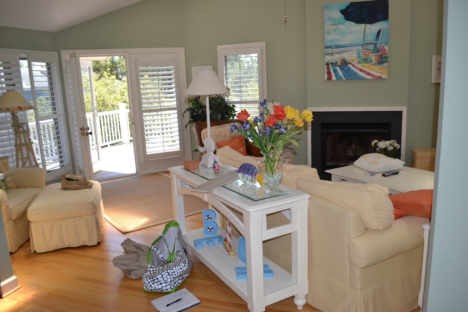 Lucy Williams Interior Design Blog Before And After Beach House Family Room