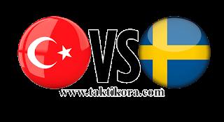مباراة السويد وتركيا بث مباشر اليوم