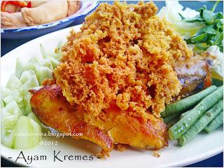 Resep Ayam Goreng Mbok Berek KREMESAN