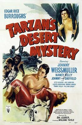 Tarzán en el desierto misterioso (AKA: Tarzán el temerario) (1943) Descargar y ver Online Gratis