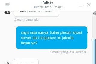 Pindah Lokasi Server, Gratis Di DomaiNesia