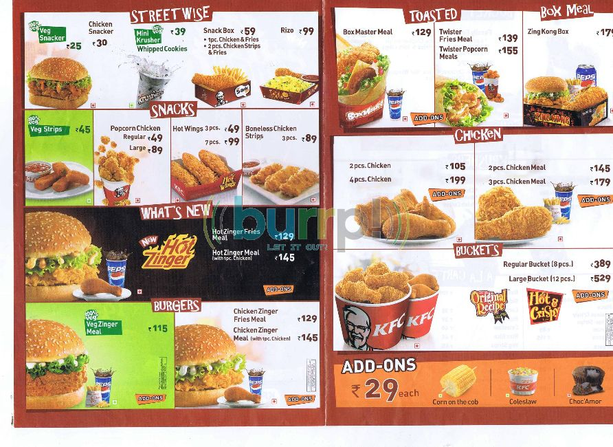 Kfc menu n prices / Kindle fire cases and covers best buy