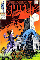 Nick Fury Agent of Shield v1 #3 marvel comic book cover art by Jim Steranko
