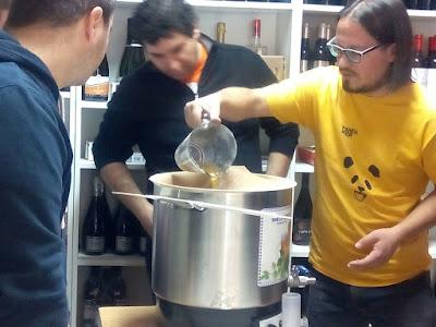 Taller de home brew en Maltea2
