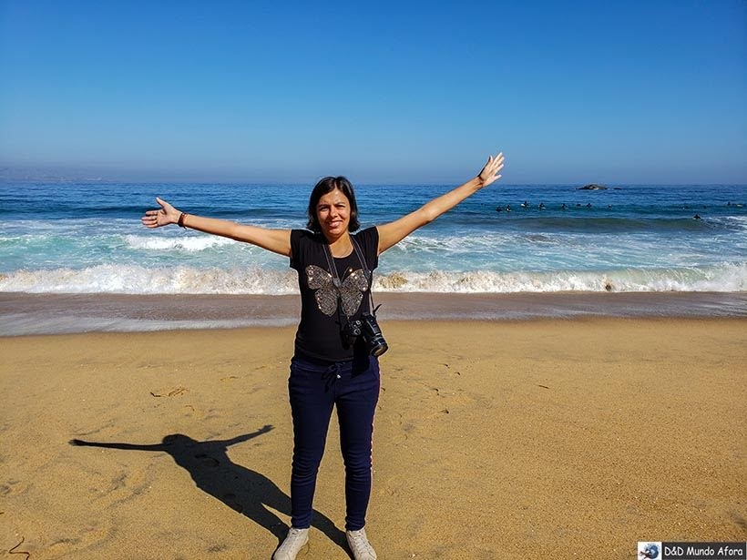 Conhecendo o Oceano Pacífico em Viña del Mar - O que fazer em Viña del Mar em um dia, Chile